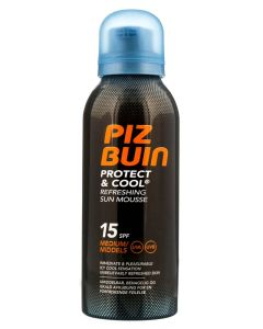 Piz Buin Protect & Cool Refreshing Sun Mousse SPF 15 150 ml