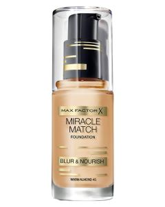 Max Factor Miracle Match Foundation Warm Almond 45