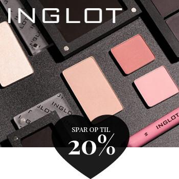 Opnå mængderabat og spar op til 20% på Inglot