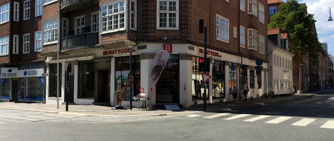 Aalborg Beautycos butik