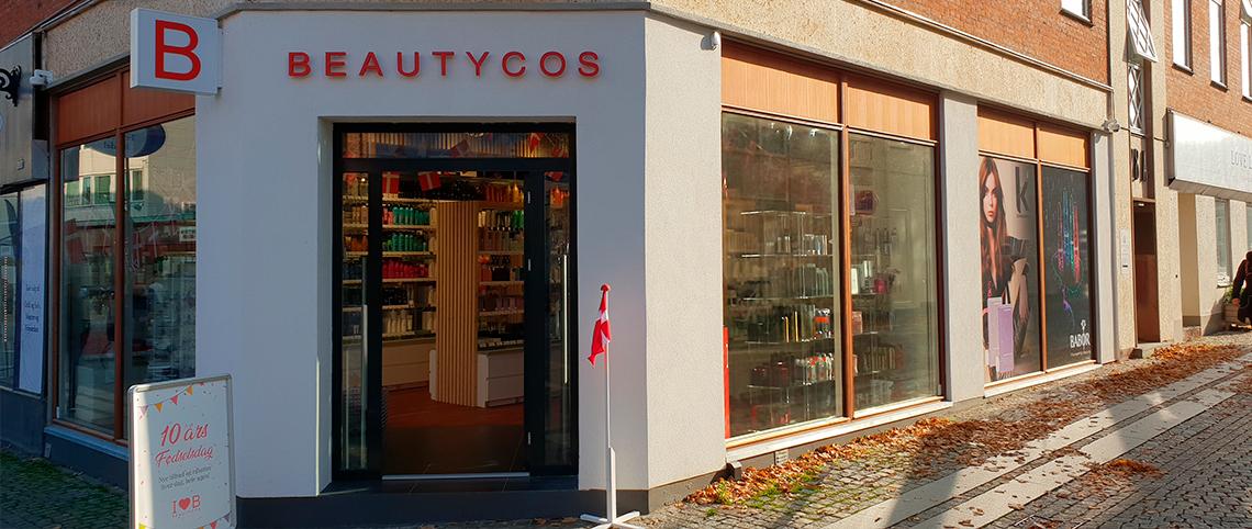 Roskilde Beautycos butik