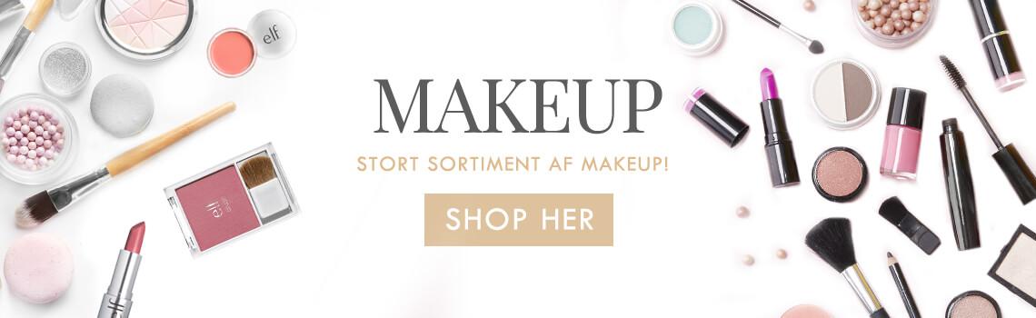 Kæmpe udvalg af makeup