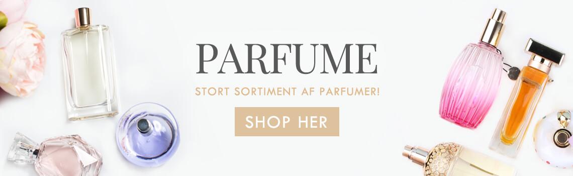 Kæmpe udvalg af parfume