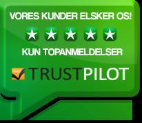 Trustpilot Topanmeldelser